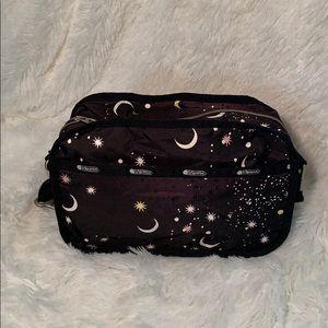 "Lesportsac ""Camera"" Bag Moon Star Night Sky Print"